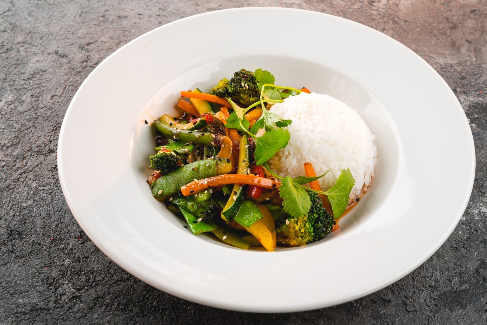 Thay-style vegetables